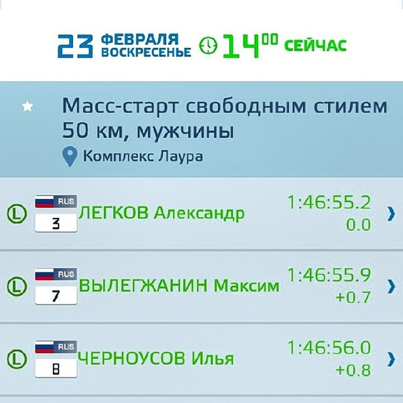 2014 -03-23, Олимпиада сочи2014 . лыжи 50 км. Ааааааа!!! Весь пьедестал наш!!! Золото, серебро и бронза Россия!!! Нас никто не догнал!!!/ Olympiad Sochi2014. Russia - winner all Olympic winter games!!!