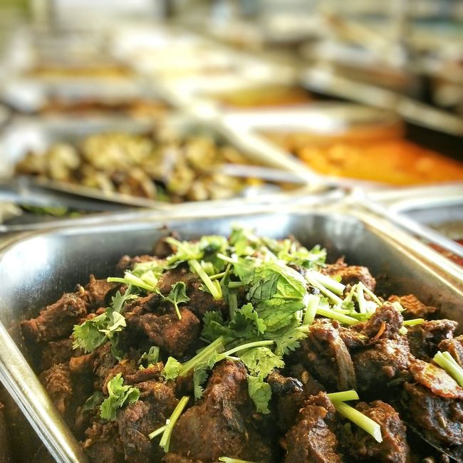 Indian delight in my country Malaysia Indiandelight Mutton Curry Mamakrestaurant Alimaju Nasikandarberatur Malaysian Food Cultural Heritage