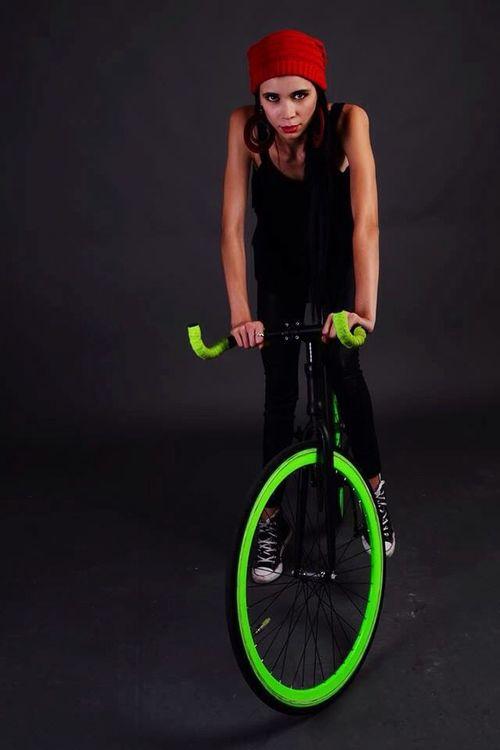 Bike Fixie Fixiegirl Rode Photo Shooting Photoshoot Mexicanmodel Mexican Nikon León
