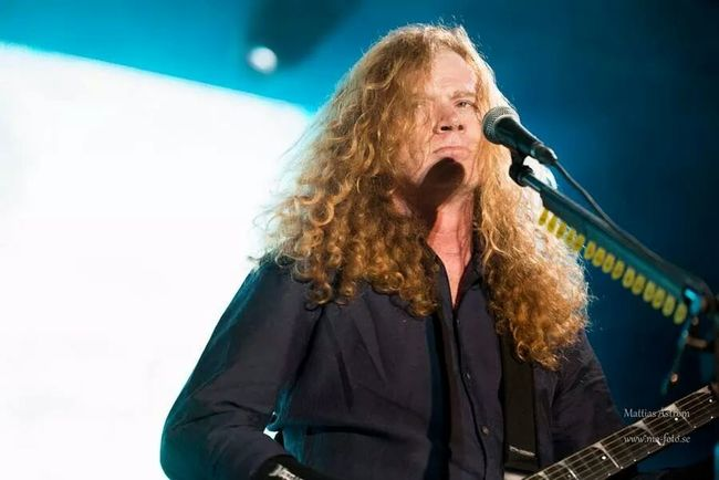 Dave Mustaine from Megadeth live 2014 Megadeth Dave Mustaine Festival Live Music