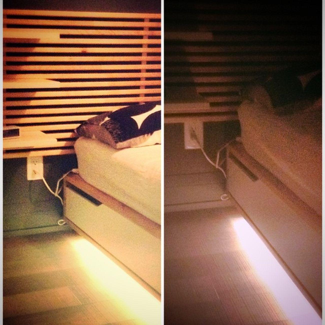 Mandal bedside lights Ikeahack