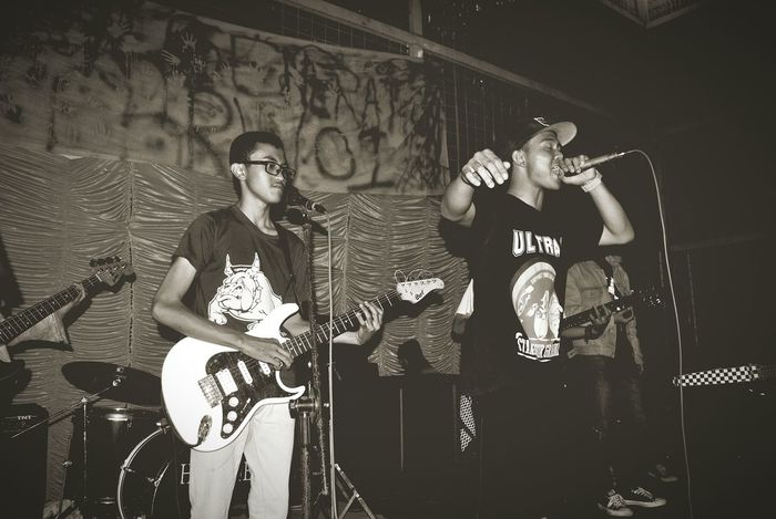 @SOLDIERS_BALD!! Live Music Skinhead N Punk B&W Collection