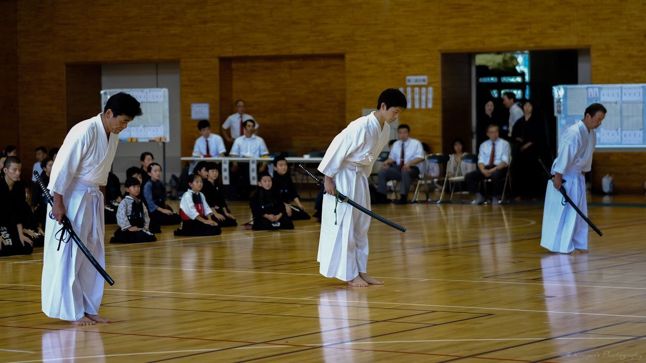 Kendo Exhibition Iaido Sports Sports Photography FUJIFILM X-T1 XF 56mm F1.2 APD Fujifilm_xseries