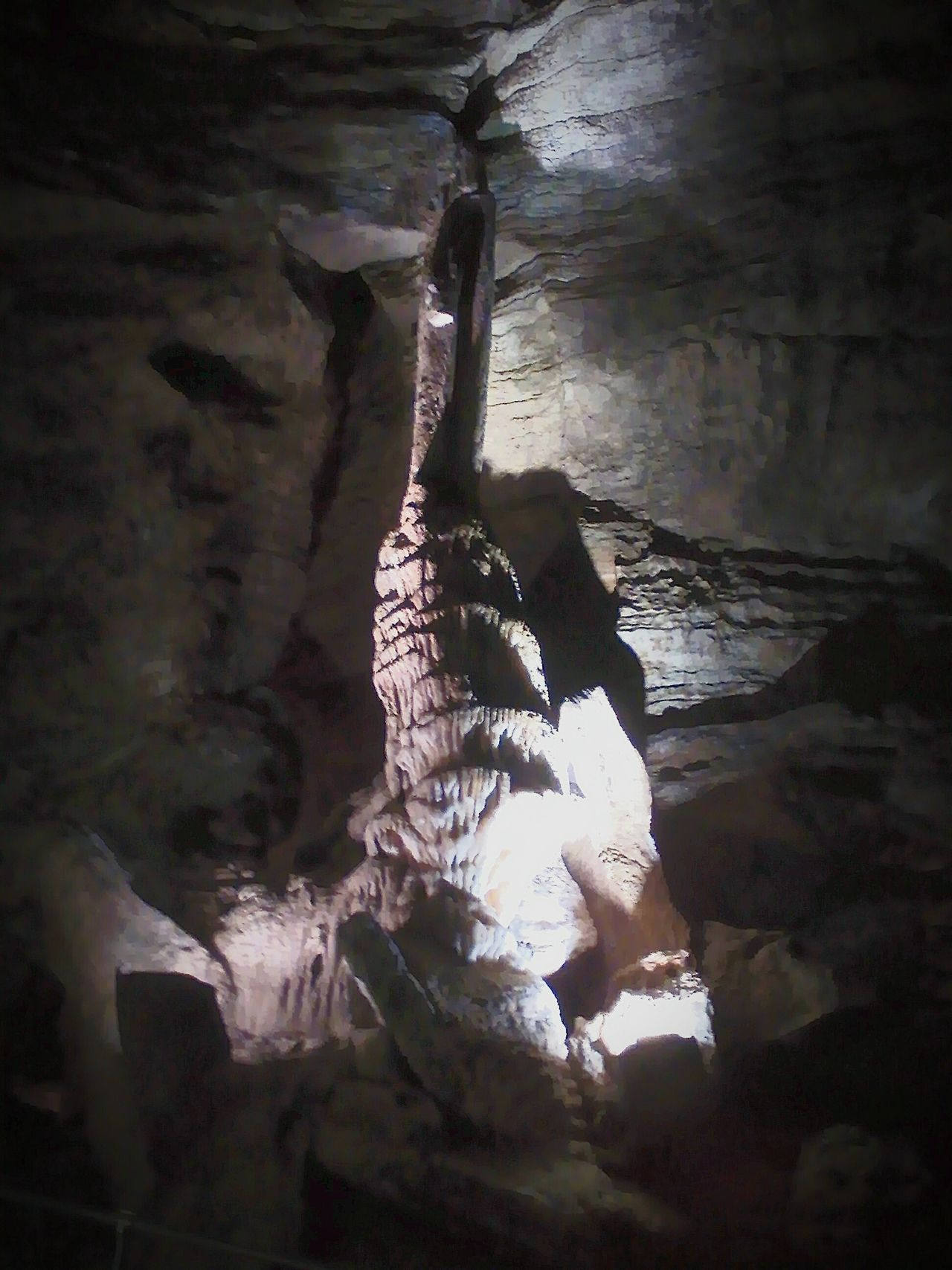 Inside Marvel Cave Ozark Mountains Branson Missouri Notch Missouri Silver Dollar Ciy Cavern Streamzoofamily My Year My View