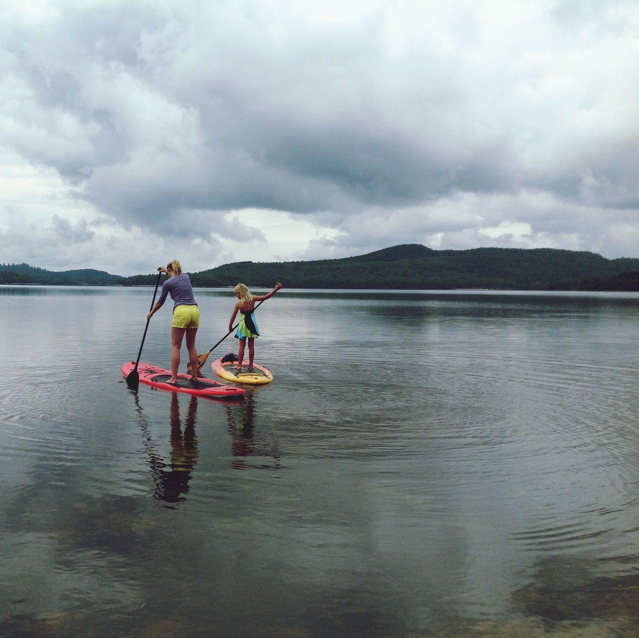 Beautiful stock photos of fitness, Adult, Adventure, Calm, Canoe