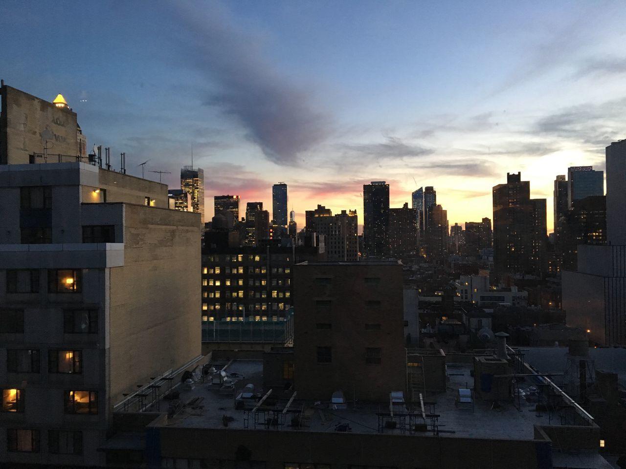 NYC NYC Skyline Hellskitchen Hells Kitchen  Fridaynight Beautiful View Home Midtown Manhattan