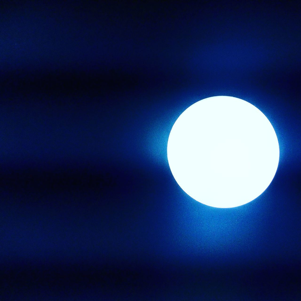 Light....luking lyk moon!!Blue No People Night Light In The Darkness