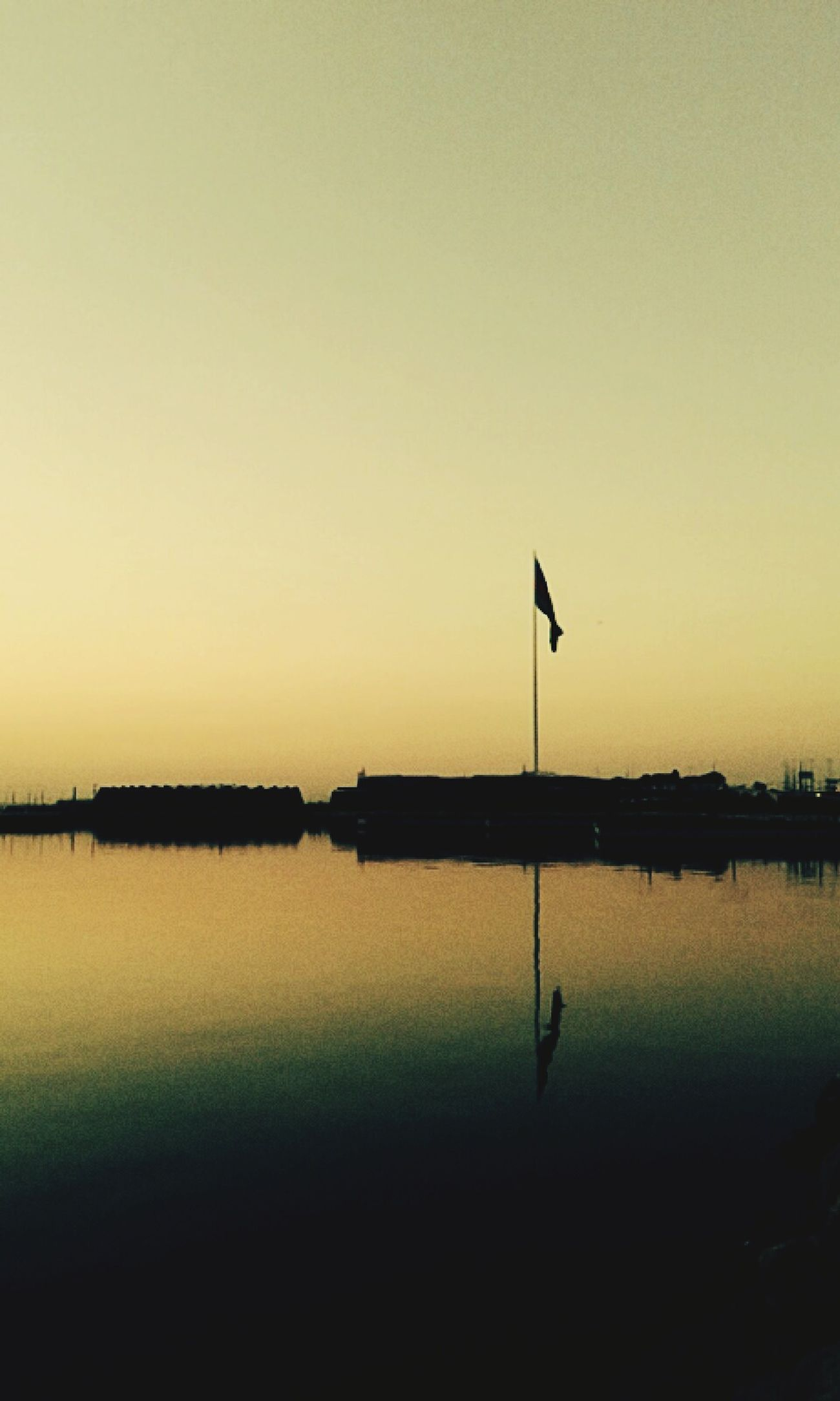 Flag Bayrak Azerbaijan Flag Baku Sunrise Sunrice #sunrice Morning Lovely [a:206937] Sea And Sky Caspian Sea Azərbaycan Türk Bayrağı