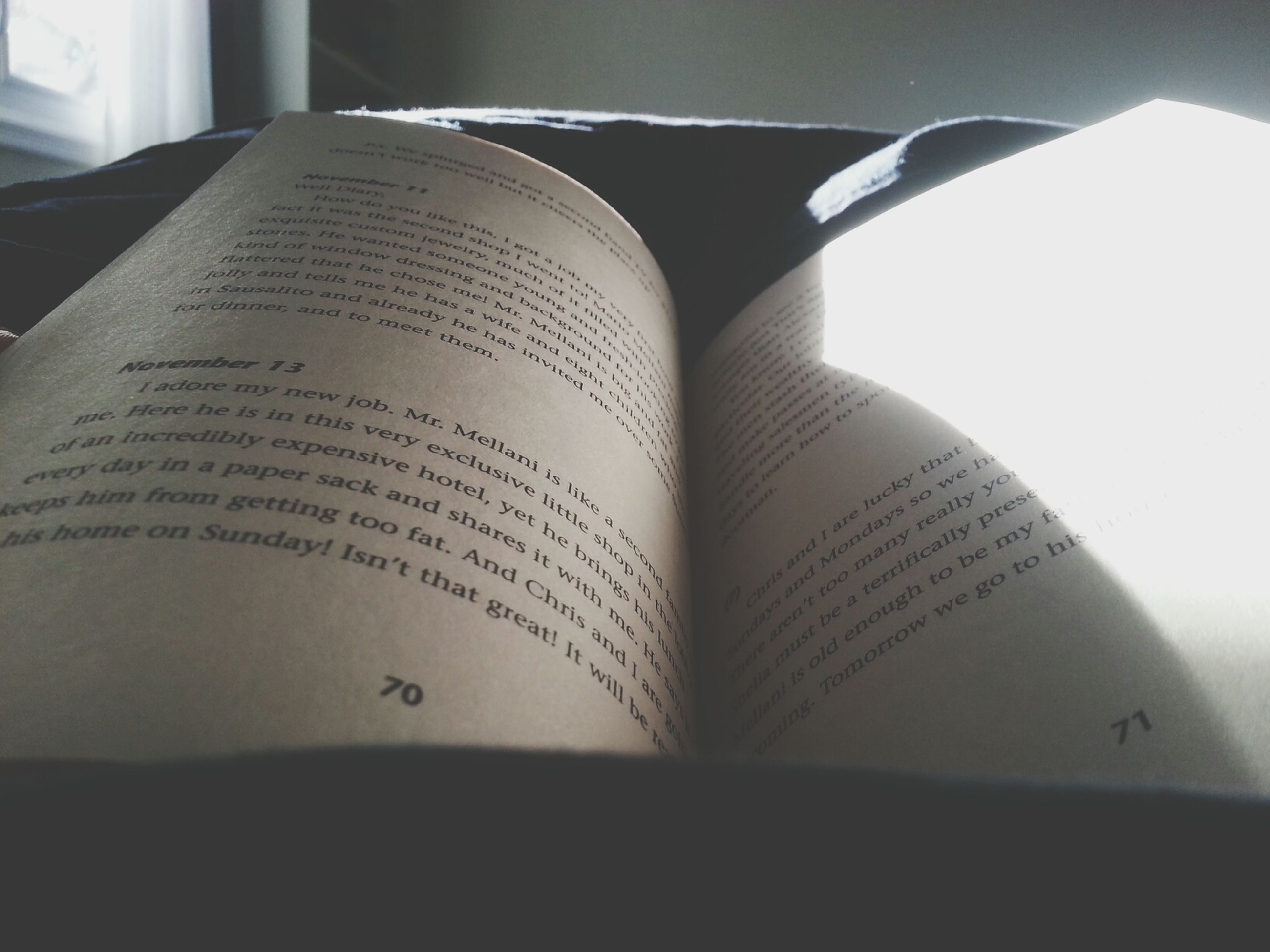 indoors, text, paper, communication, close-up, western script, book, education, still life, no people, open, selective focus, focus on foreground, part of, page, home interior, detail, day, number, cropped