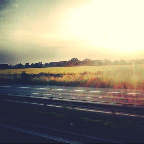 On a journey back home after having a wonderful and chill day Sun_collection Journey En Route Home Sweet Home