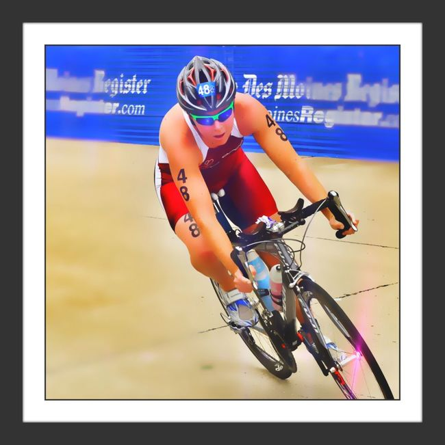 TRIATHLON Proud Olympians Bicycle Racing