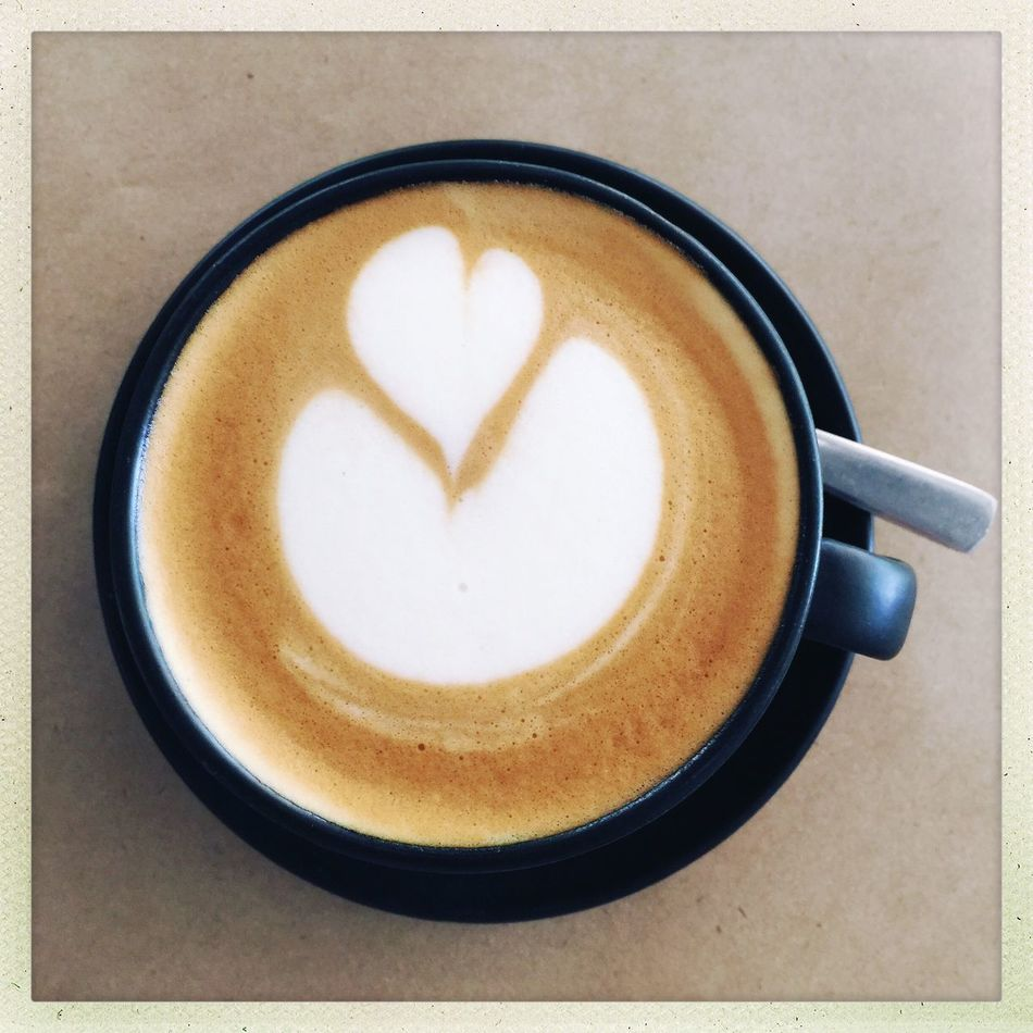Coffee Cup Coffee - Drink Food And Drink Cappuccino Froth Art Heart Shape Refreshment Close-up Drink Restaurant Coffee Shop