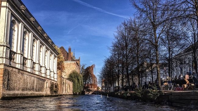 In Bruges (shot & processed entirely with the iPhone 5S) IPS2015Water IPhoneography Iphoneonly IPhone 5S Iphonephotography Iphonesia 645proMkIII