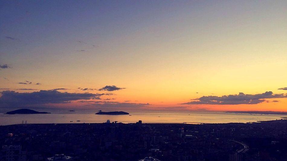 ıstanbul, Turkey Island Mutluluk Nishadalar Sunset Life Summer Doğa Enjoying Life Nature Türkiye City Akşam Gunbatimi Hayat Bakış Maltepe Sea
