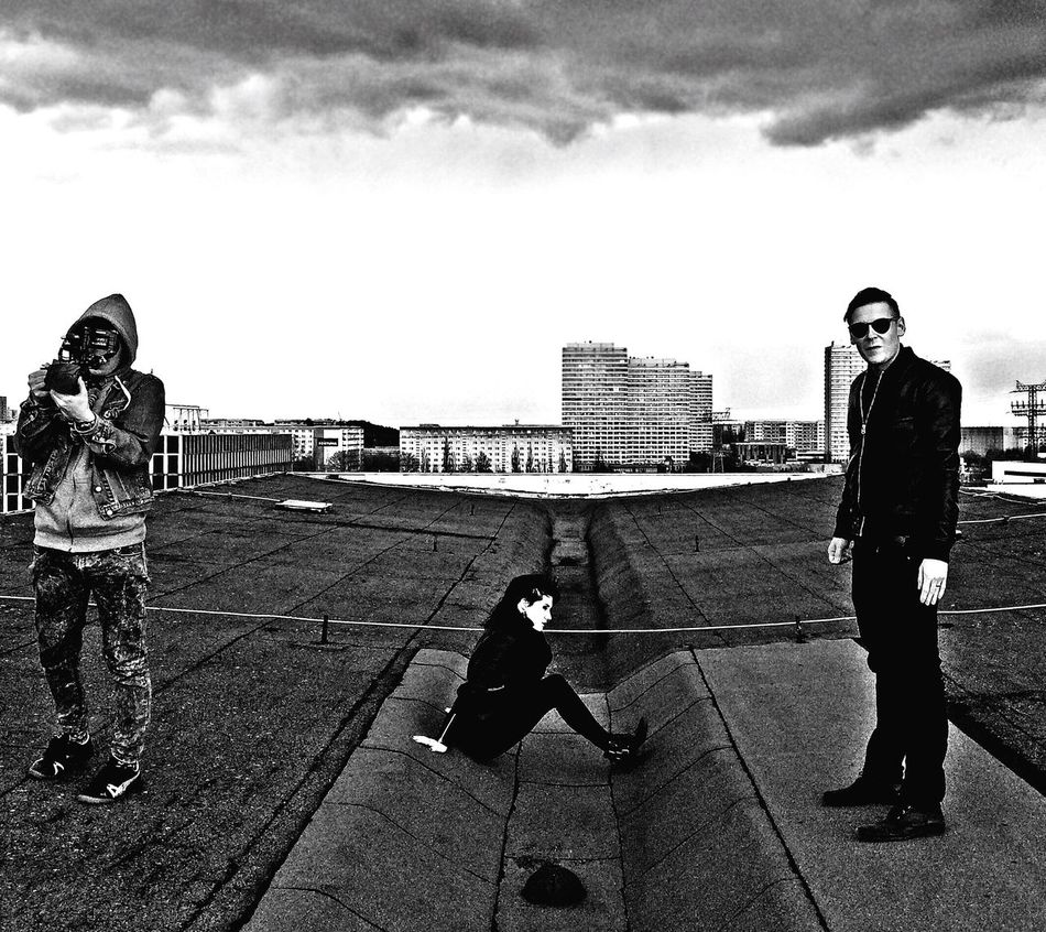 Marzahn Building Windy Bullet Height Band Filming Documentary Berlin