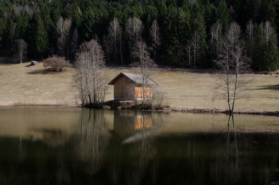 Built Structure Tree Architecture No People Water Outdoors Building Exterior Day Nature Sky Reflection BestofEyeEm Nikonphotography Naturelovers Nikon D7000 Nature Photography Golden Moments  Bestoftheday Austria Mountains Beautiful Nature Awesome_shots Awesome_view Tirol