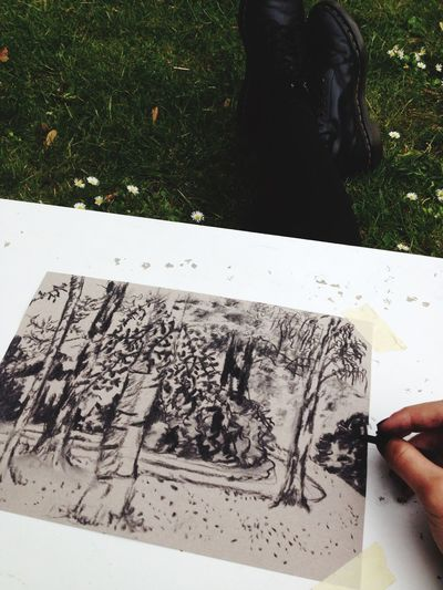 Plants 🌱 Drawing Charcoal