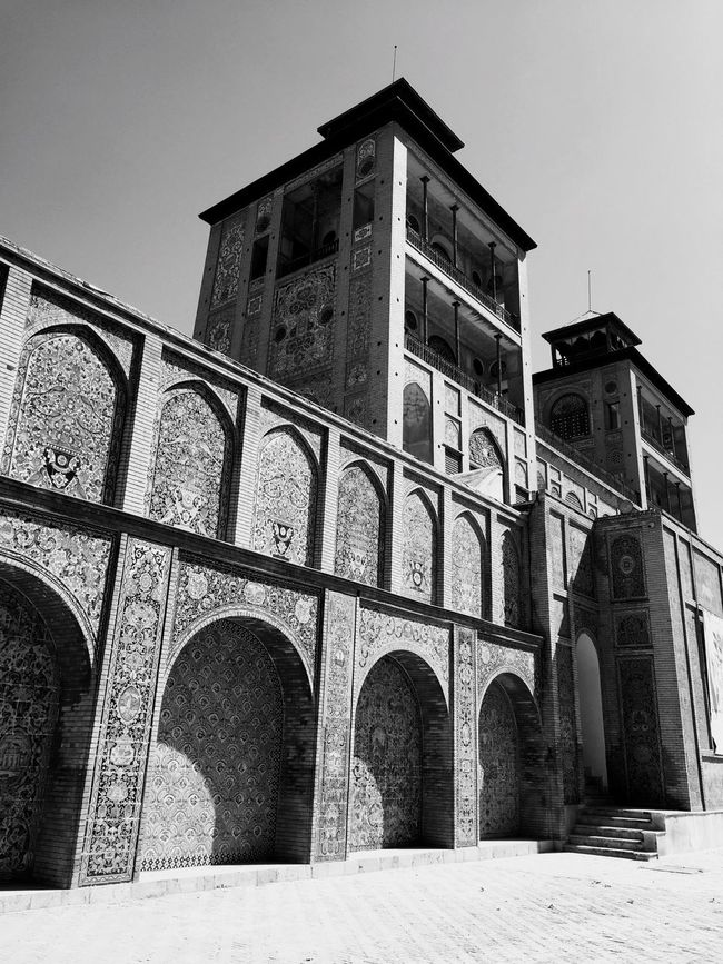 Iran Golestan Palace Empire Architecture Old Photo By Me Art Love (null)History Outdoors Clear Sky Arch
