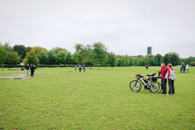 Where should we go now? X100S FujiX100S FUJIFILM X100S Priime Priimephoto Strangers Bike Bikes My Fuckin Berlin Park