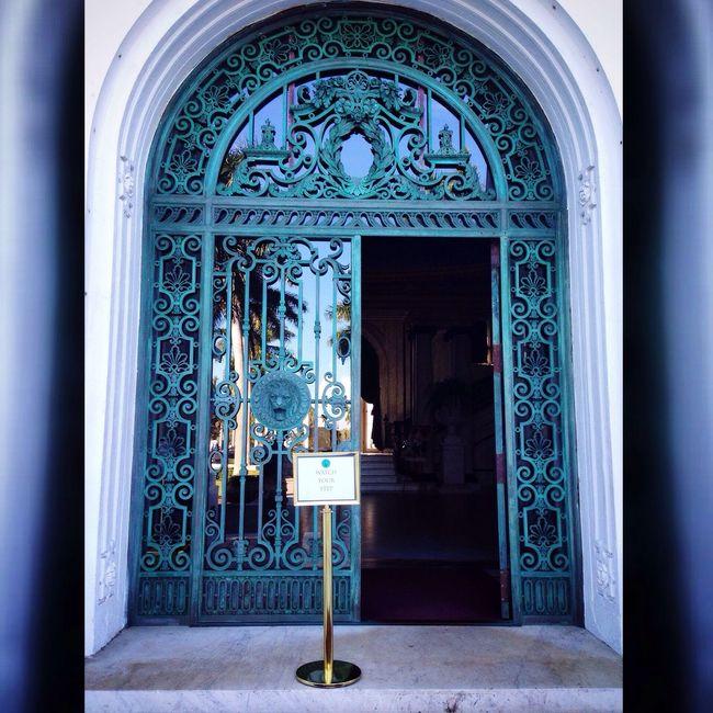 Front door of Flagler Museum