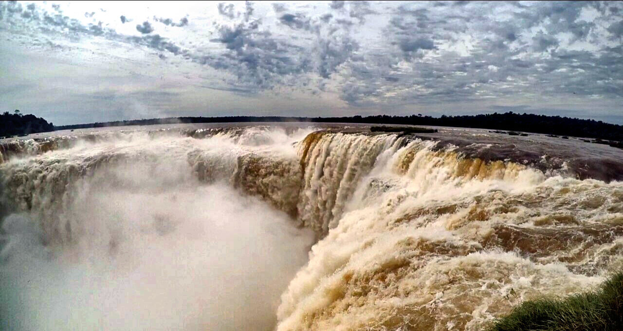 Garganta Del Diablo Iguazu Falls Misiones, Argentina Cataratas De Iguazú EyeEm Best Shots EyeEm Nature Lover EyeEm Gallery Fantastic View Incredible Nature Incredible View Waterfall Water Beauty In Nature Nature Motion Iguazu