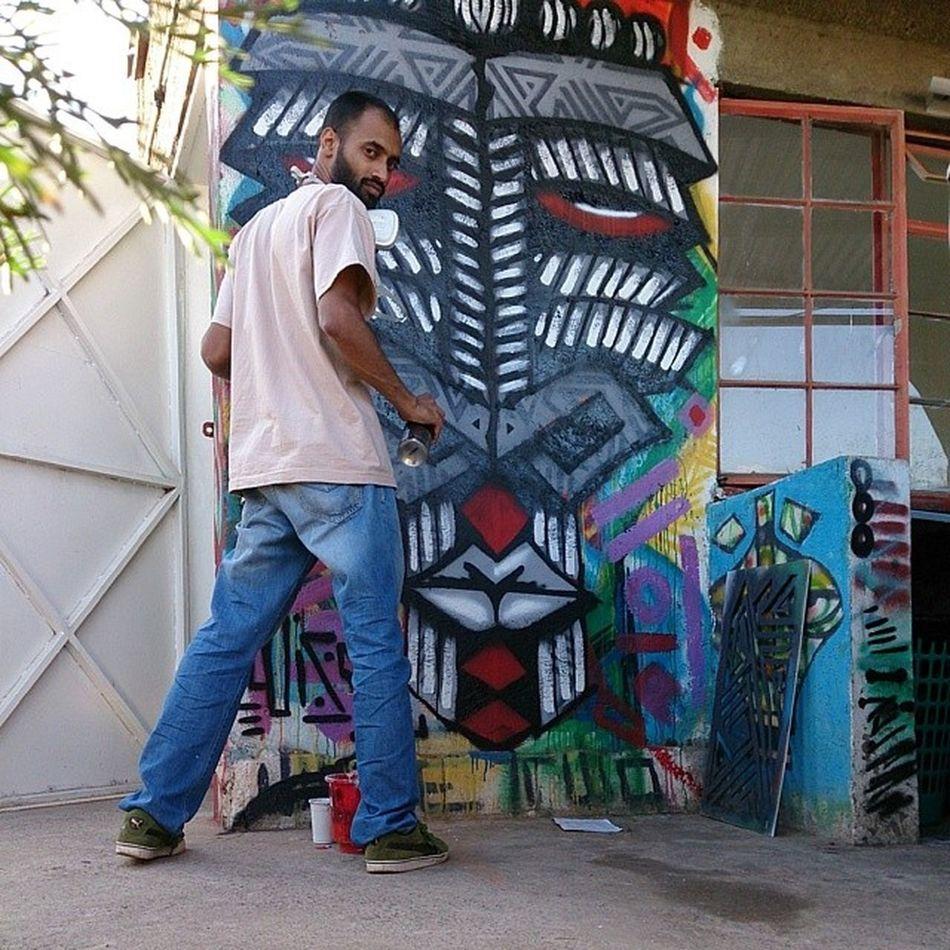Graffiti writing. @pawa254 Thepit Graffiti Wisetwo