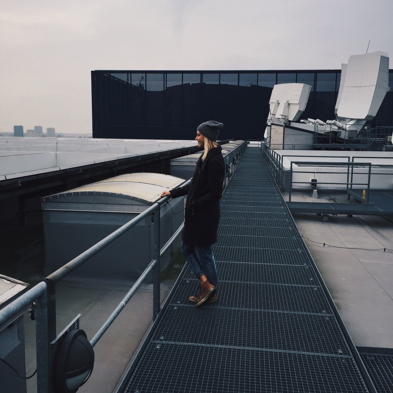 One Person Full Length Architecture Real People Standing Women Outdoors Sky City Day Adult People