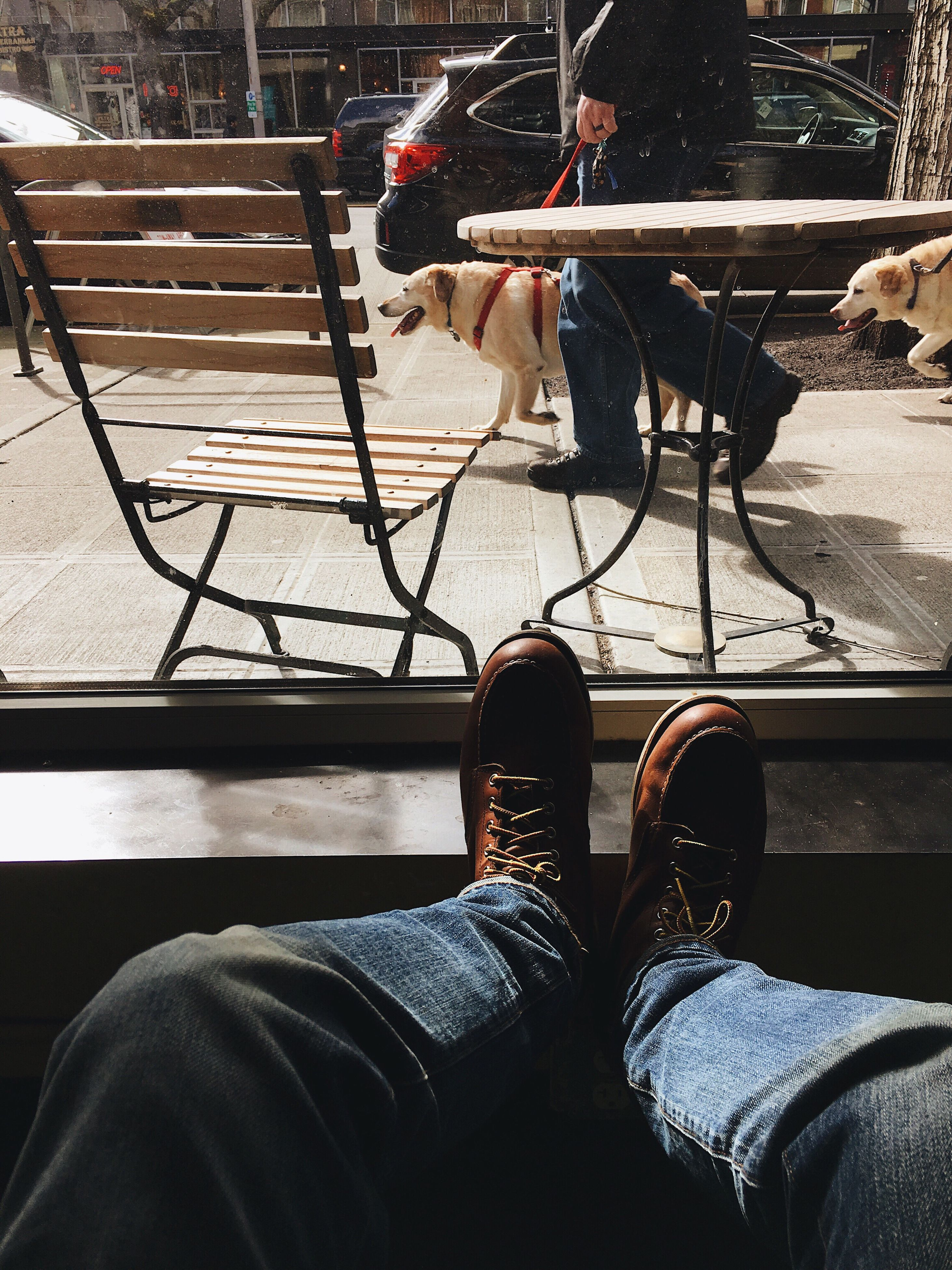 human leg, low section, real people, men, transportation, sitting, human body part, adults only, outdoors, only men, day, people, adult