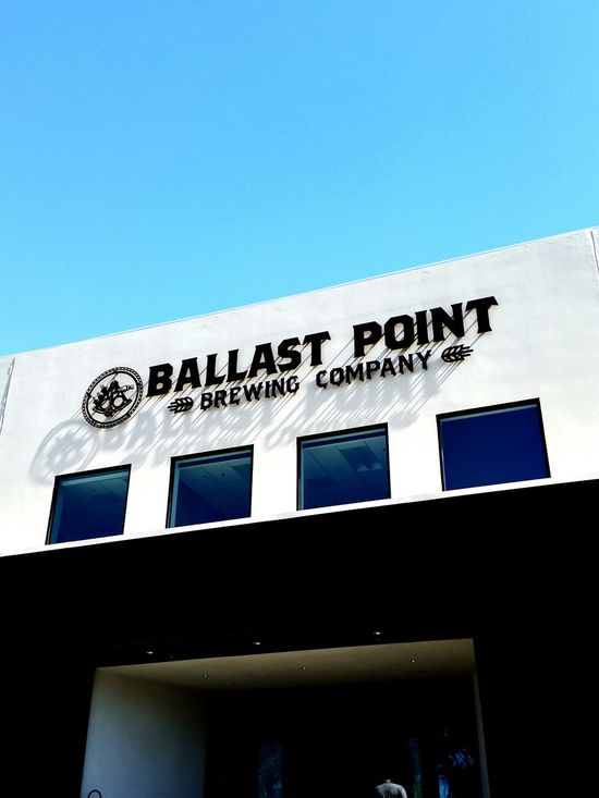 A couple months ago visiting one of my favorite breweries BallastPoint Sandiego