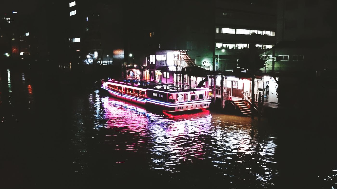 River Boat Night Photography City Life Night Lights Water