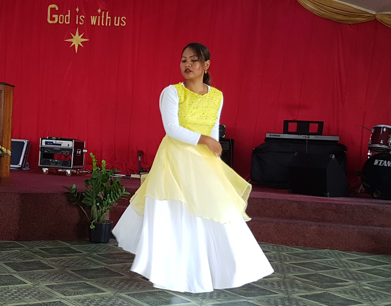 Your Loving Kindness Has Never Failed Me ❤ Only Women Dancing Worshiping God Worship Dance Hillsong I Need You ♥ Every Moment Thankful Easter Sunday Easter Dance Celebration Happiness Memoriesmade Be Thankful For Everything You Have. Surinamese_Javanese Asian Woman Asian Girl Dancing Dress People Memorable Moment Memorableday