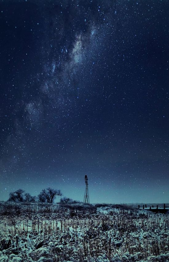 Wintry evening Scenery_collection Scenery Shots Scenery Pictures Stary Sky Stars Stary Night Night Sky Nightscape Night Skys