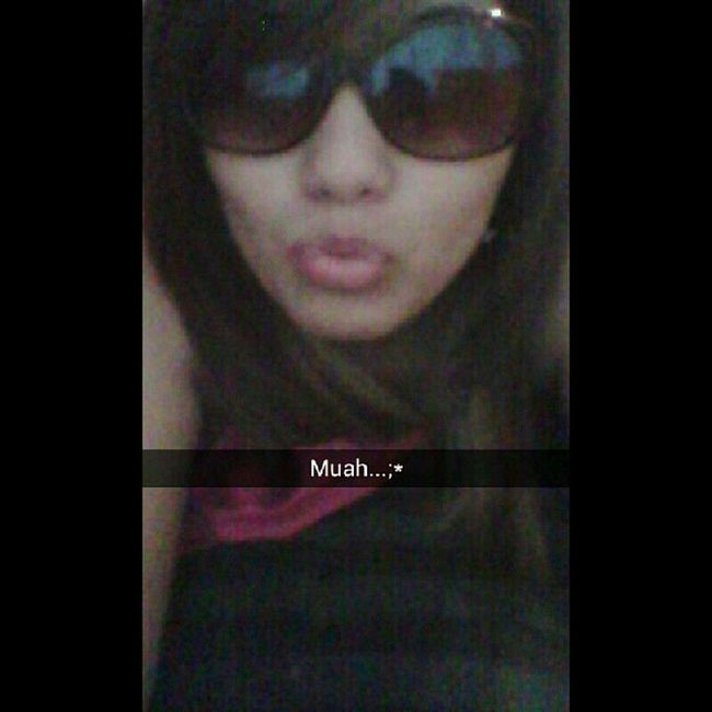 The snapchat i sent him!♥ Muah  Abigkiss Myglassesdoe @cristiano7g