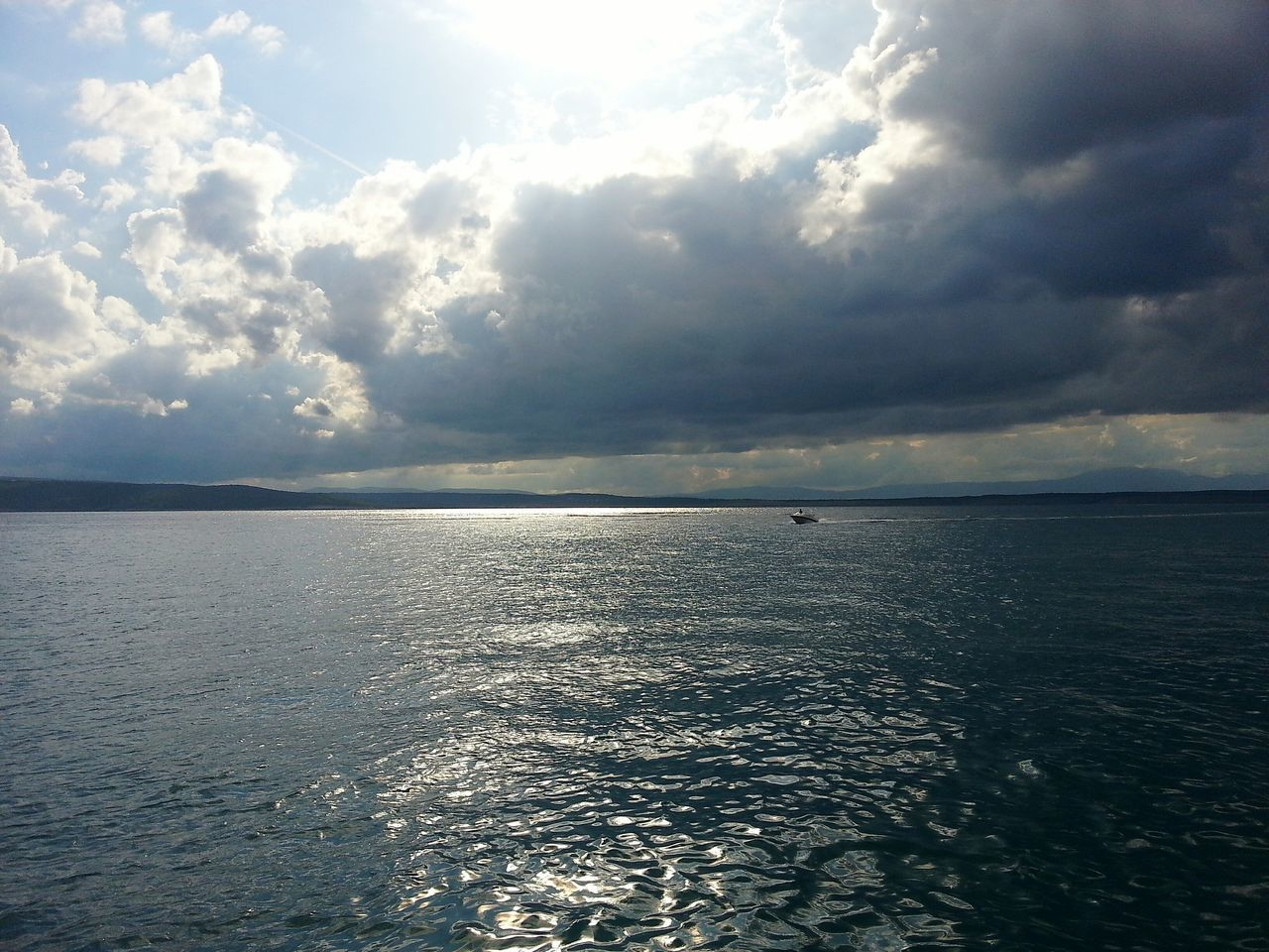 Water Scenics Sea Tranquil Scene Horizon Over Water Tranquility Beauty In Nature Reflection Sky Waterfront Seascape Cloud - Sky Nature Cloudy Cloud Day Sunbeam Outdoors Blue Non-urban Scene Crikvenica Croatia