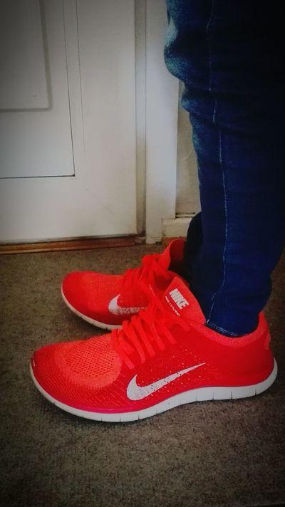 Shoe Red Standing Masive First Eyeem Photo