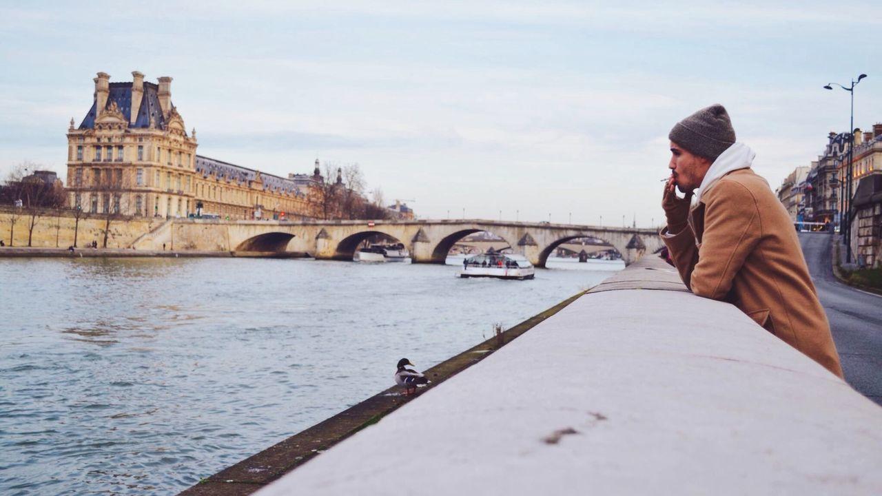 Enjoy The New Normal Paris Pont Bridge Cigarette  Cigarette Time