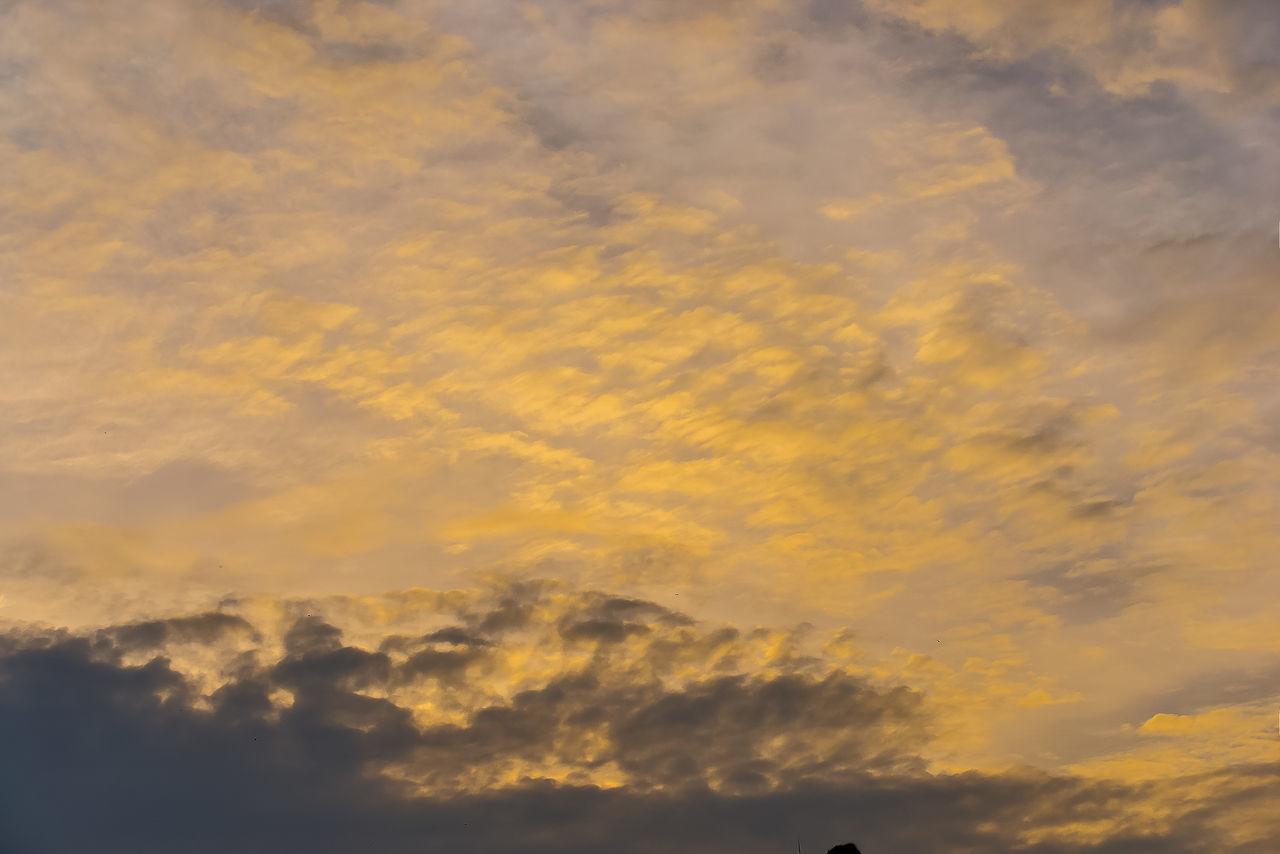 One dusk sky. Cloud - Sky Dusk Dusk Sky Light And Shadow Outdoors Scenics Sky Sunset