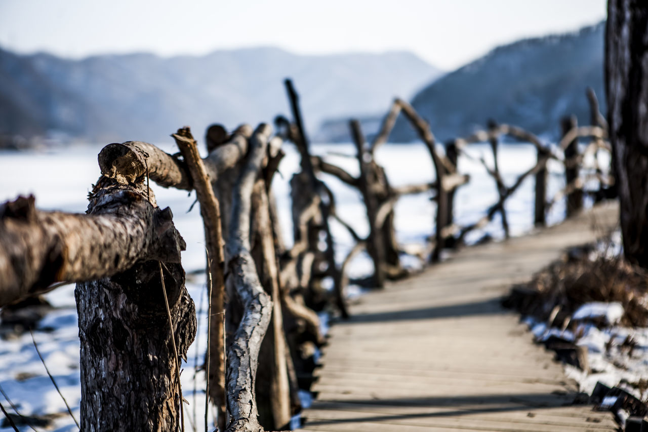 Beautiful stock photos of north korea, Beach, Bridge - Man Made Structure, Chuncheon, Cold Temperature