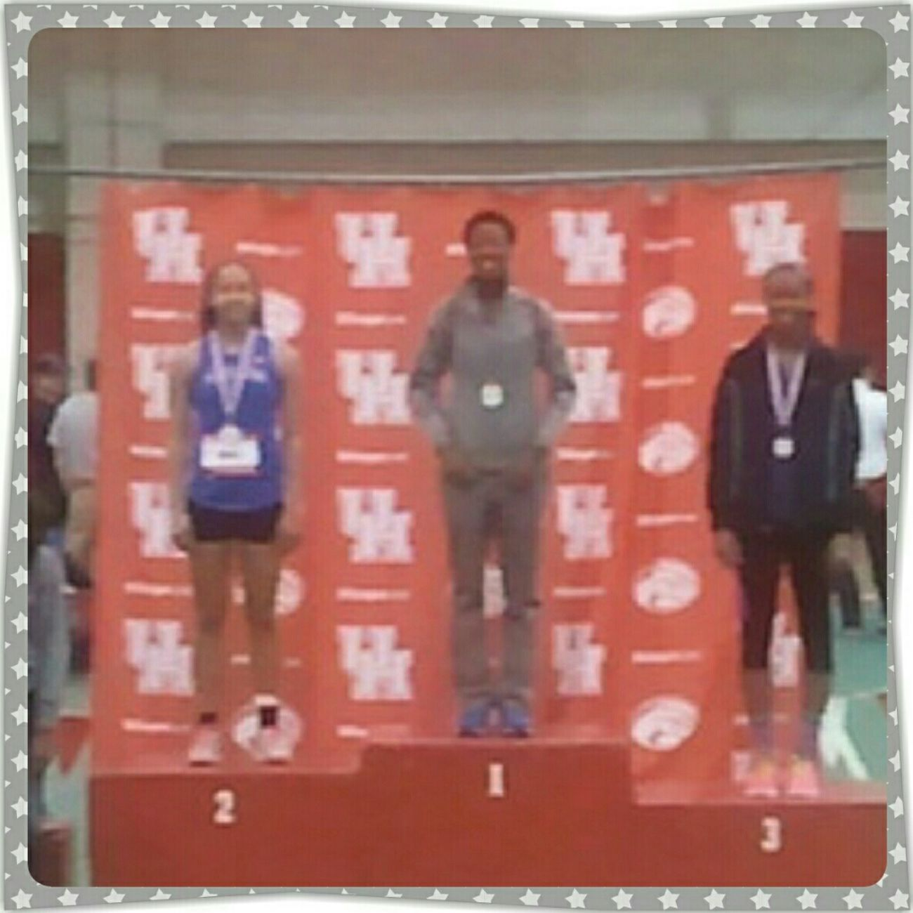 High Jump! 1st Place At U Of H Indoor Track!