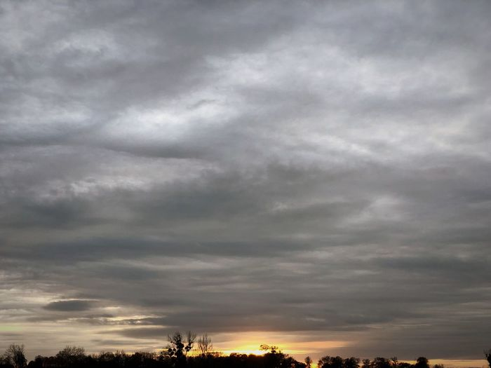 Stormy weather... Cloud - Sky Sky Beauty In Nature Nature Low Angle View Scenics Tranquility Outdoors No People Tranquil Scene Silhouette Sunset Tree Storm Cloud Day