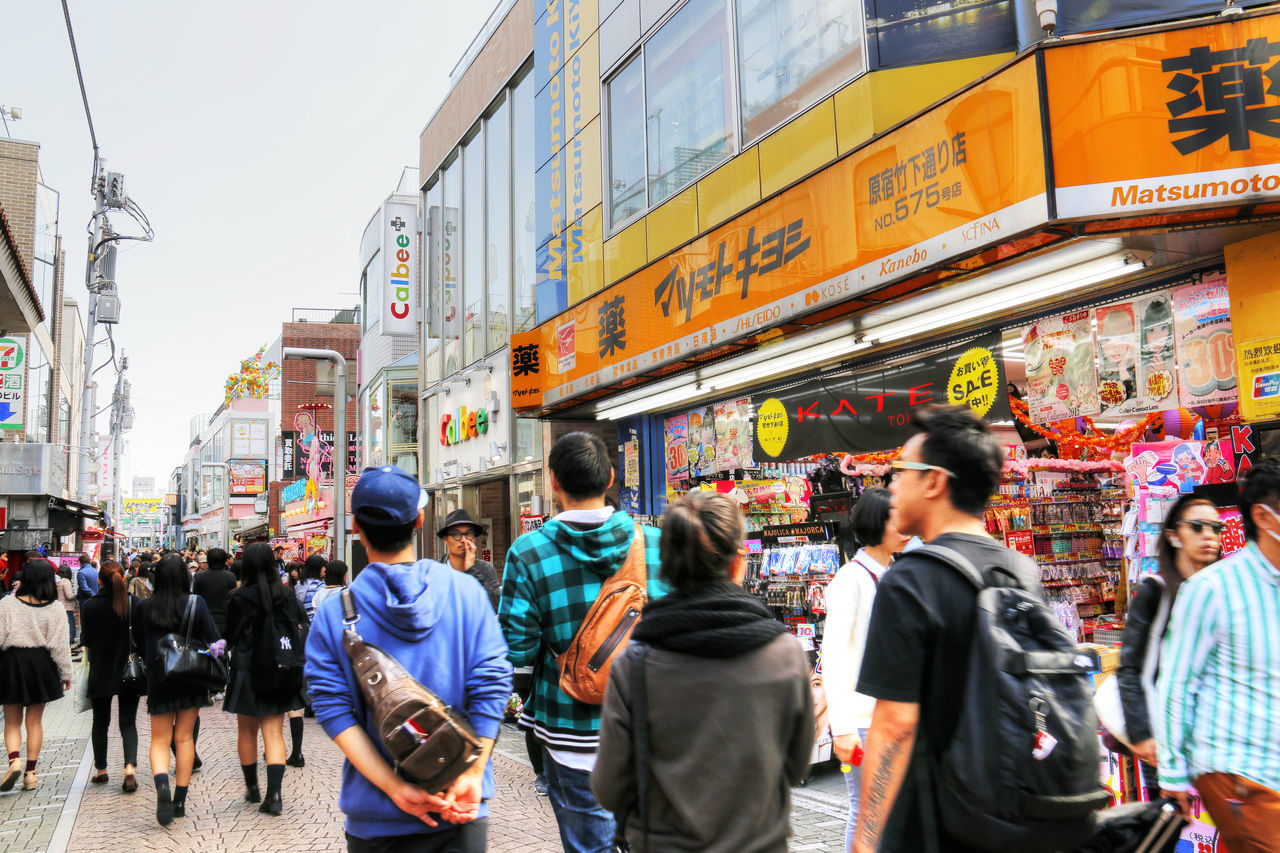 City Cosplay Crowd Japan Large Group Of People Manga Outdoors People Takeshita Street Teenagers  Teenagers Hangout Tokyo