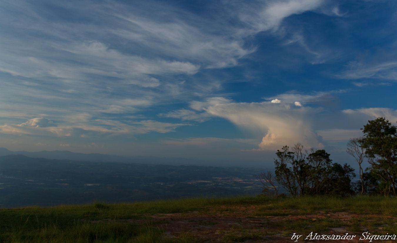Cloud - Sky Formas Landscape Mountain Nuvem Pico Do Urubu Sky Breathing Space