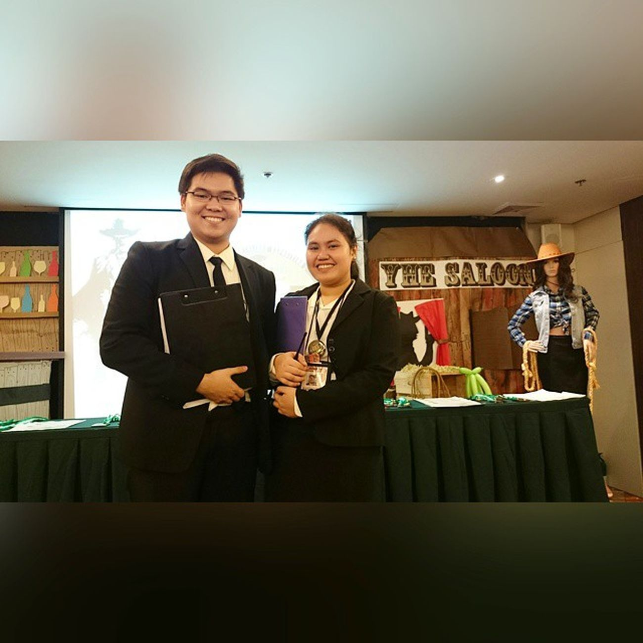 Overall Students-in-Charge (SICs) for the 42nd edition of Young Hoteliers Exposition 💡📷 . . . 42ndYHE YHE Younghoteliersexposition Benilde onelasalle wildwest