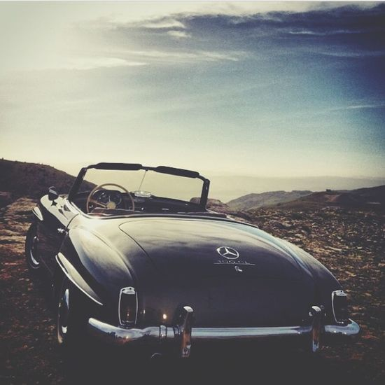What Makes You Strong? ride a vintage Mercedesbenz to a hill over the Bekaa valley Lebanon