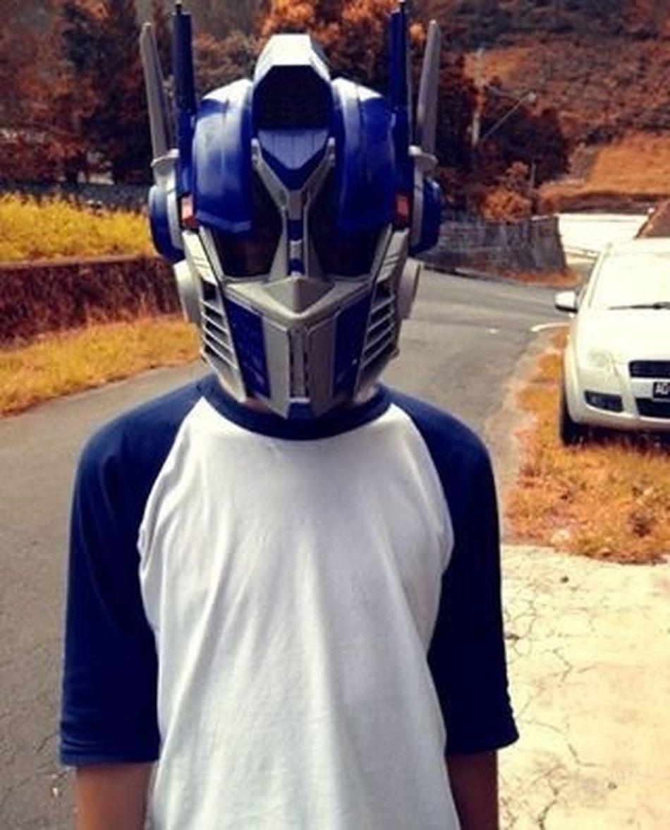 Optimus Prime Helmet Mask