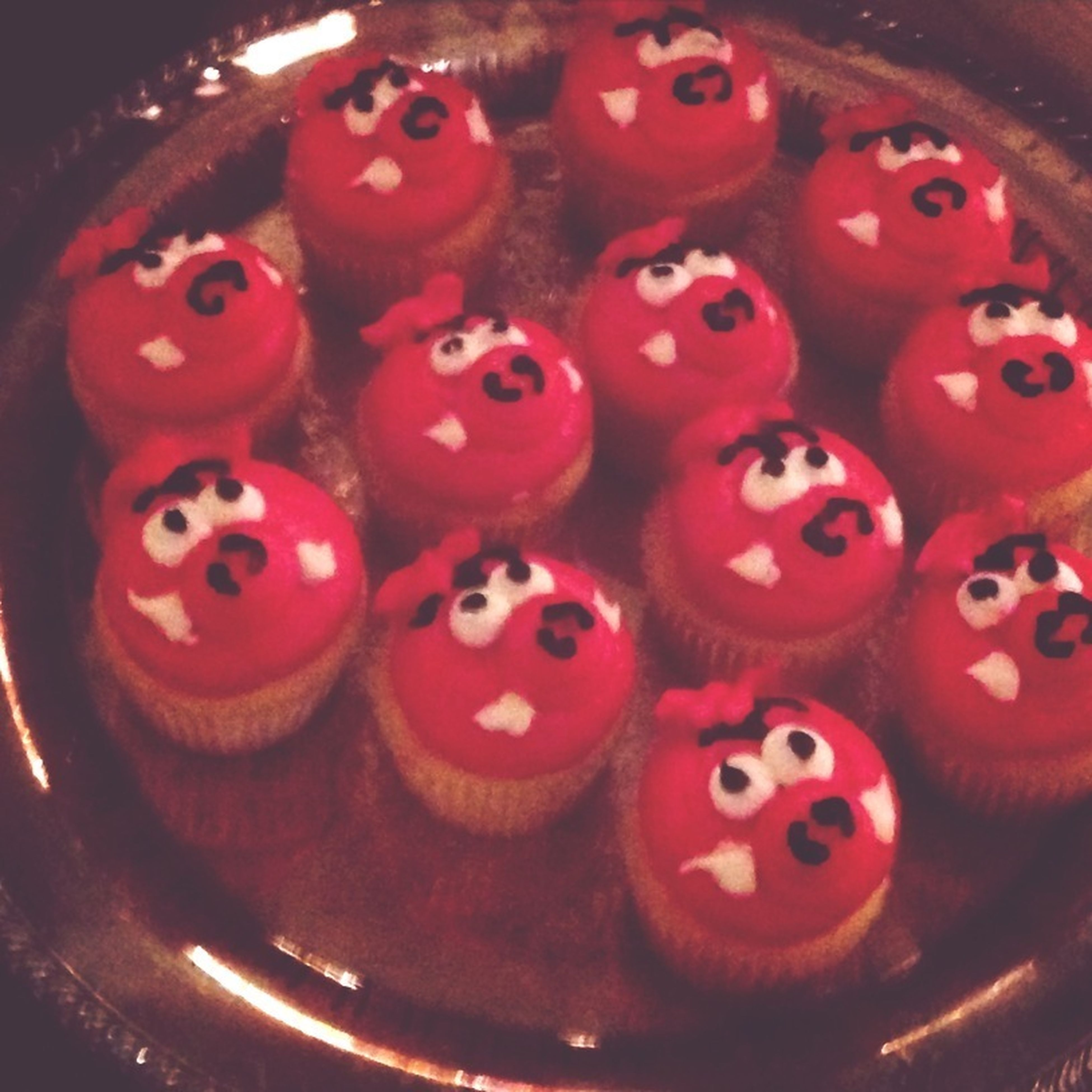 Arkansas Razorback Cupcakes
