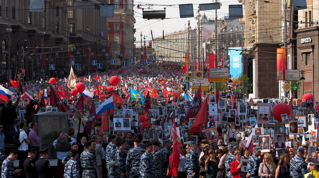 9ofmay Celebration Children City Life Community Crowd Cultures Lifestyles Men Portrait Real People Russia Street Urban Women