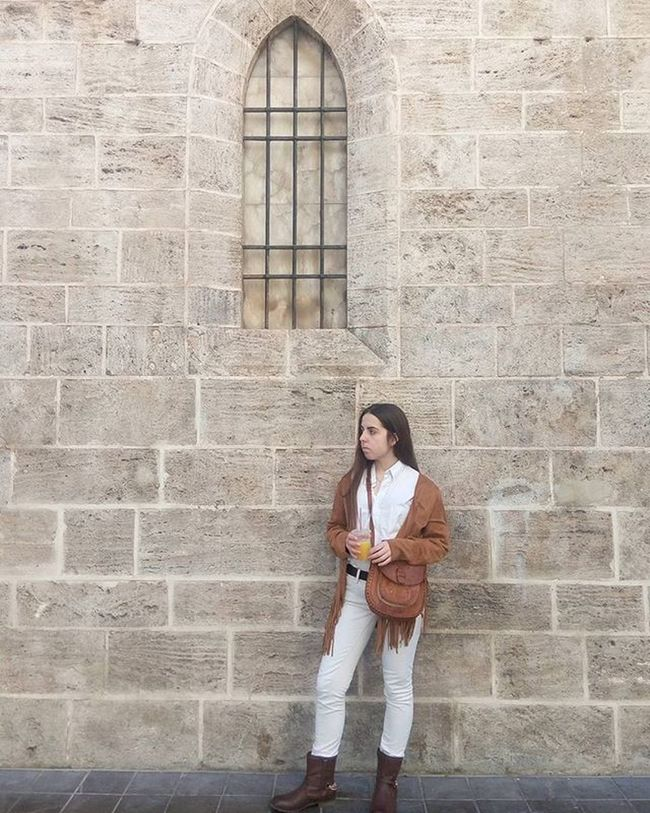How to wear white and suede ✔ Todaywearing Outfitideas Suède Project365