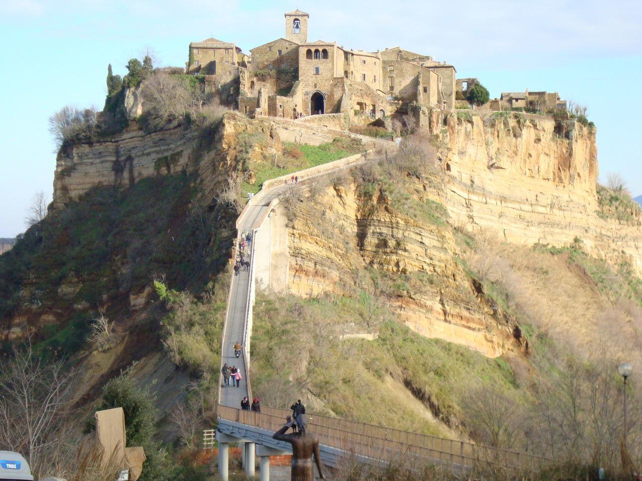Civita Di Bagnoregio Hamlet Beauty Caracteristic Place Italy❤️