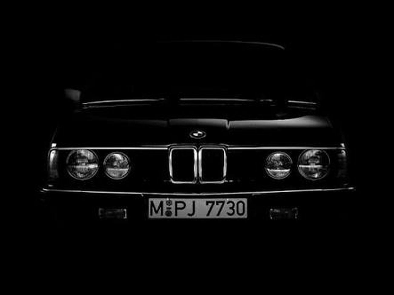 Bmw E28 Black